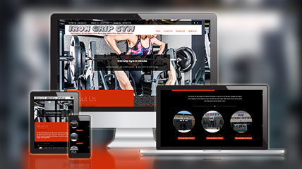 Gym Services Website