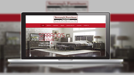 serrano furniture website