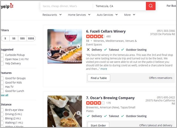 Create A Yelp Page