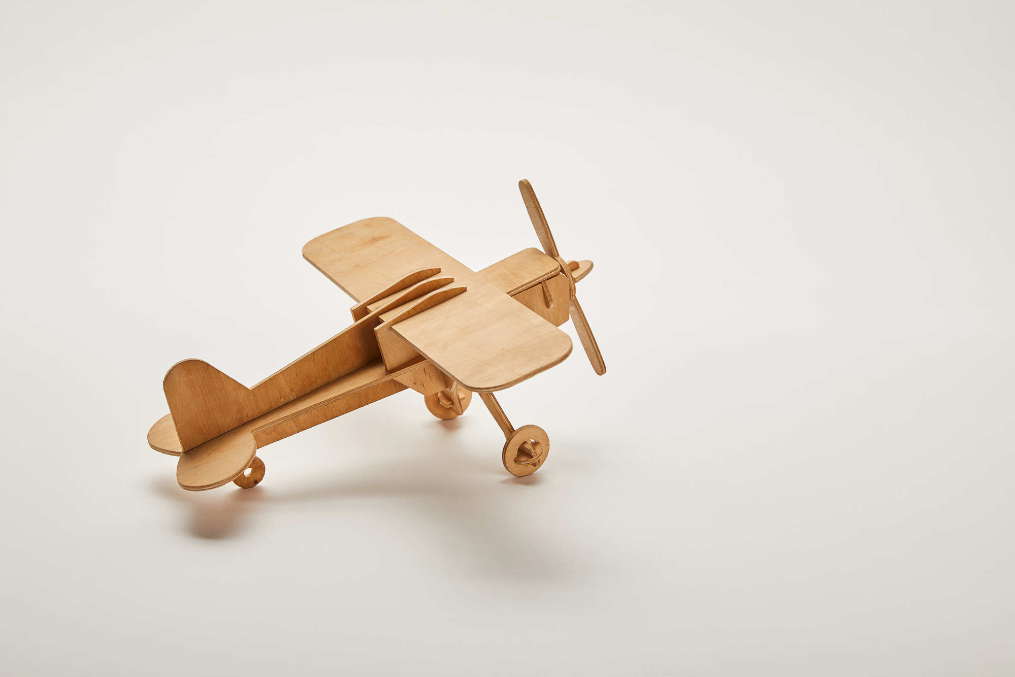 Model toy airplane