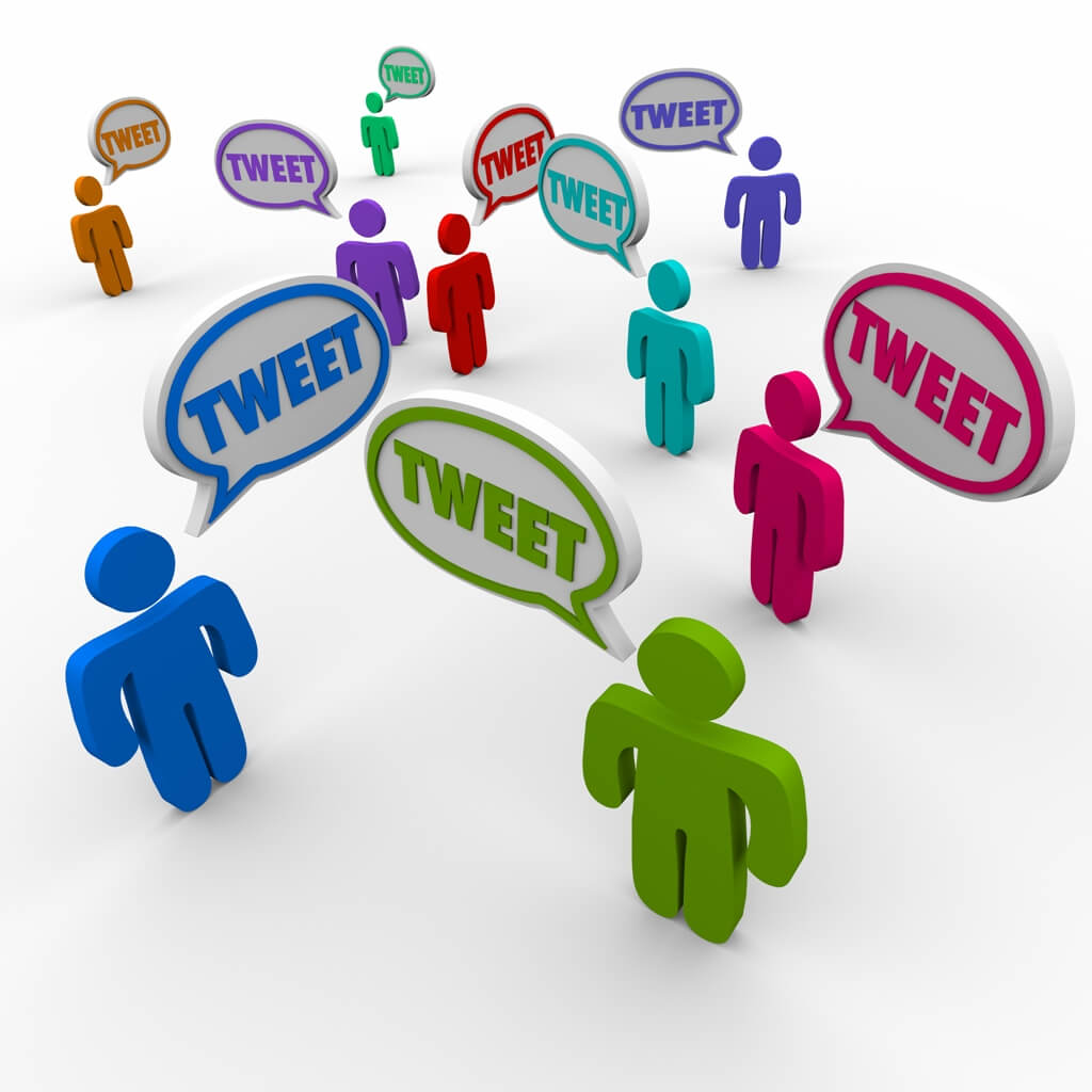 Tweet often
