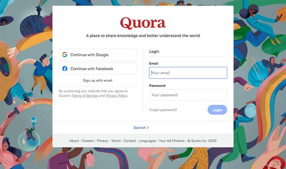 Quora.com screenshot