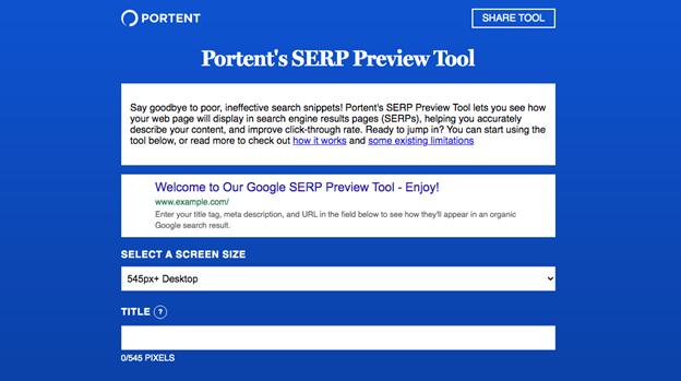 SERP screenshot