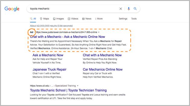 Search Campaign