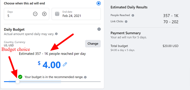 Promote your Facebook Business Page