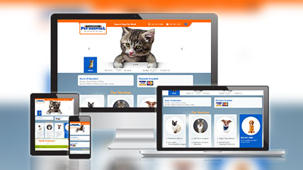 caldwell animal website