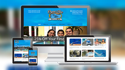Crystal Blue Pool Service & SPA