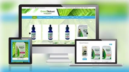 green nature hemp website