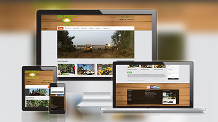 rancho tree service website