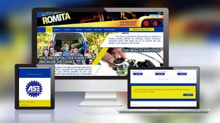 romita auto website