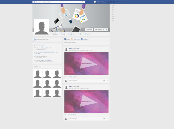 Use an alternative profile to Make Facebook Posts Viral