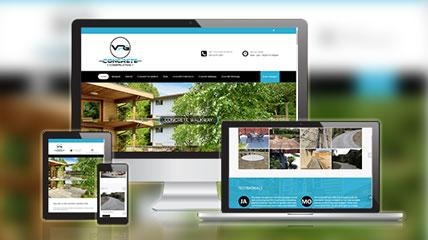 Concrete Services Website