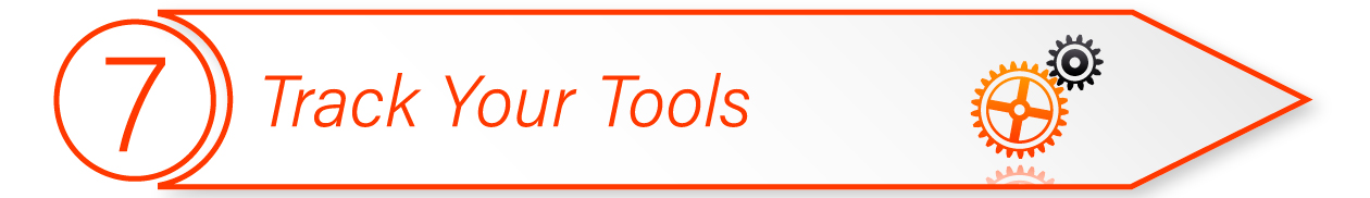 Online Marketing Tools Step seven Track Your Tools