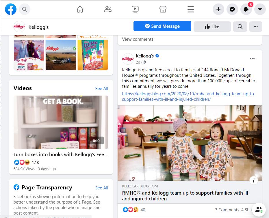 Social Media Calendar Industry Article Example