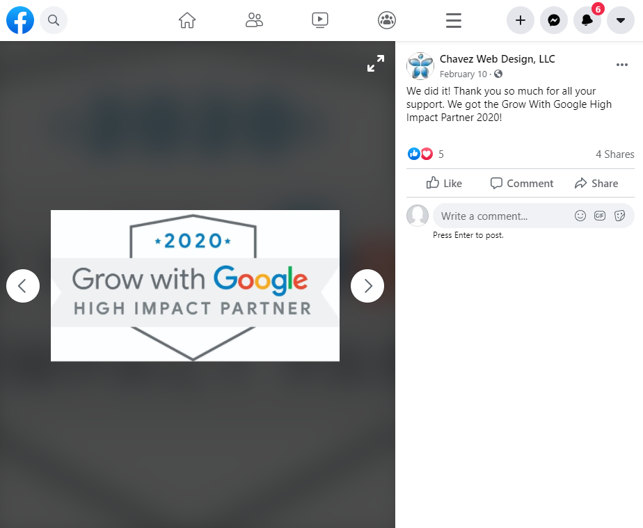 Social Media Calendar Google High Impact Partner Thank Your Fans Example