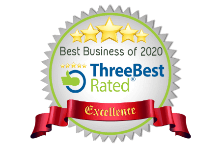 Best Business of 2020 - ThreeBest Rated