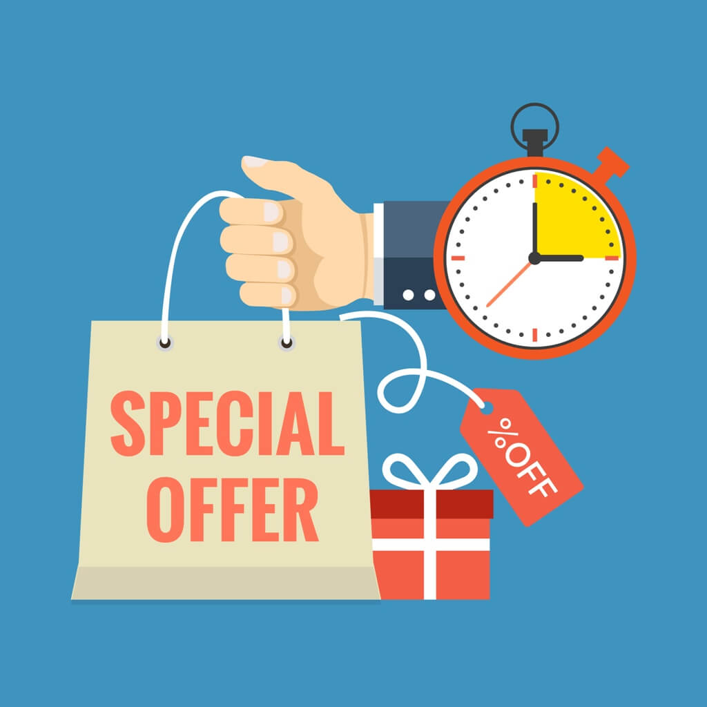 Use Limited-time Offers To Your Advantage